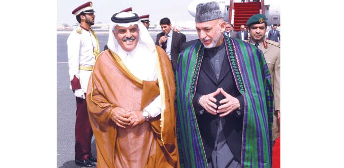 qatar karzai