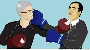 apple samsung battle