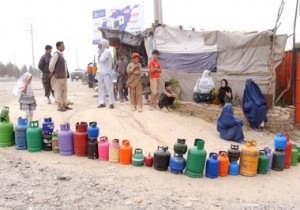 High gas price irks Kabul residents