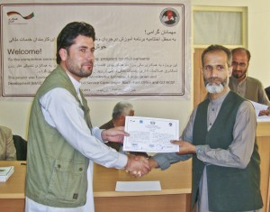 Germany helps 390 Afghan civil servants improve their skills in public administration