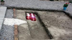 stone laying foundation